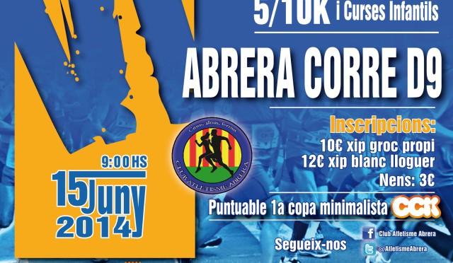 """<span lang =""""es"""">Cursa de Abrera 2014</span>"""