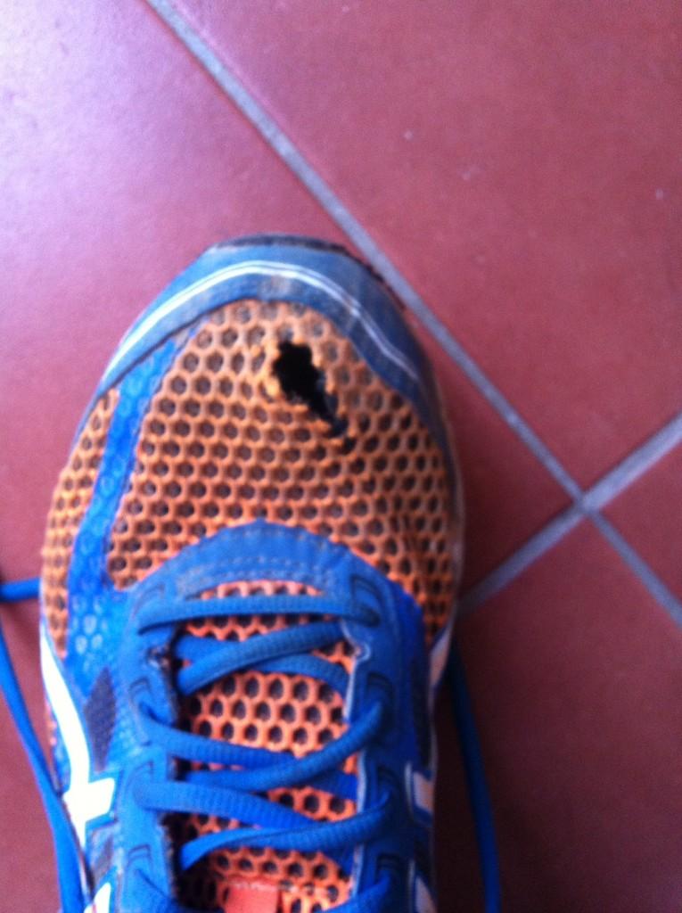 zapatillas rotas