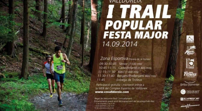 Trail Valldoreix 2014 pistarunner