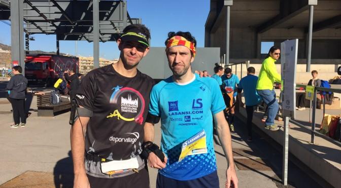Cursa Viladecans Xavi i Marc pistarunner