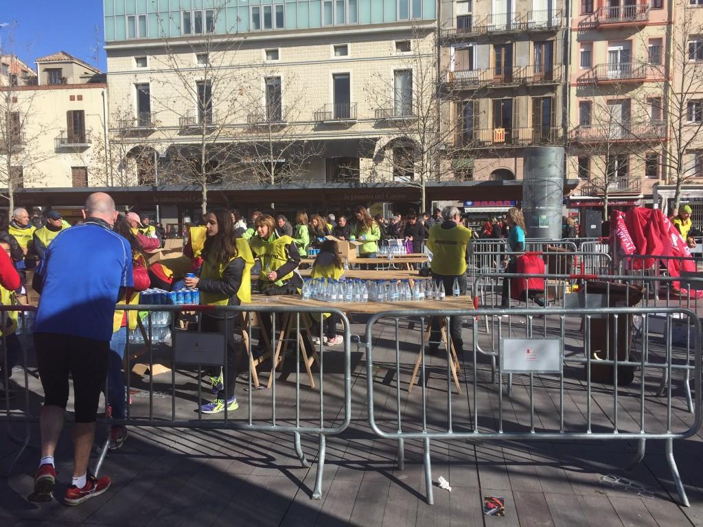 avituallament arribada 10kvilafranca pistarunner