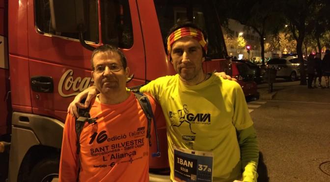Cursa dels Nassos 2014 Marc i Albert pistarunner
