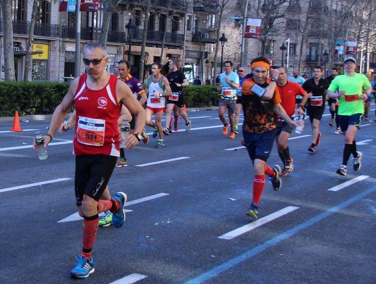 Gran Via Maratón Barcelona pistarunner 2015