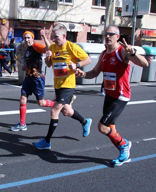 Maraton Barcelona Paralel pistarunner 2015