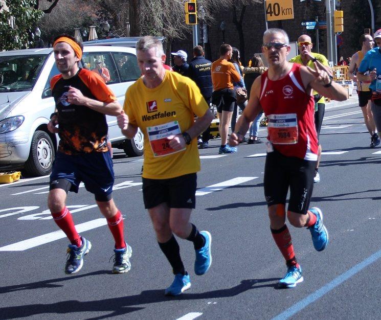 Marató Barcelona Paral·lel pistarunner 2015