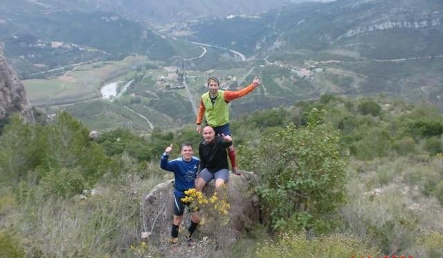 """<span lang =""""ca"""">Entrenament trail a Montserrat: pujada i baixada des de Collbató</span>"""