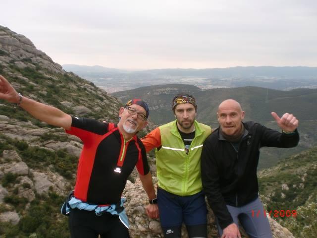 Montserrat corrent muntanya pistarunner