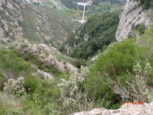 Montserrat collbató monestir pistarunner