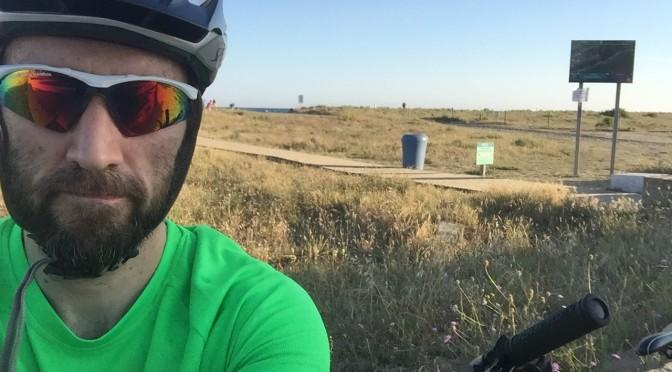 bicicleta playa prat pistarunner