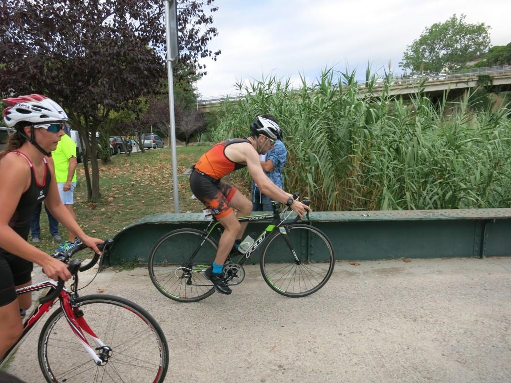 bicicleta triatlo Sant Pol de Mar