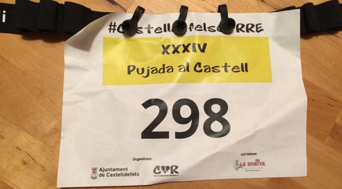 """<span lang =""""ca"""">Crònica cursa Pujada al Castell de Castelldefels</span>"""