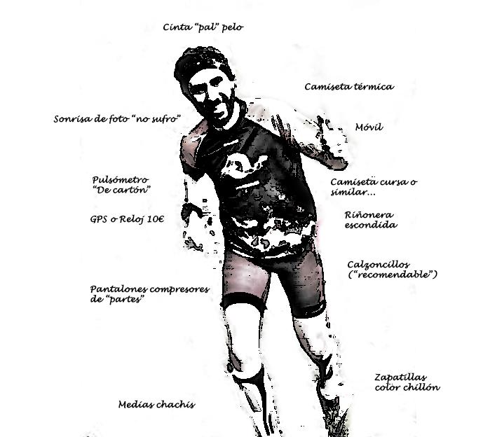 Disfressa de corredor pistarunner